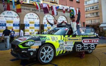 Νίκη του Abarth 124 Rally στον αγώνα της Τσεχίας για τοERC2