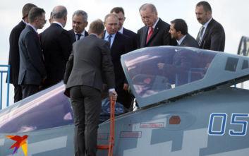 Με το «αόρατο» μαχητικό της Sukhoi... γνωρίστηκε ο Ερντογάν στη Ρωσία