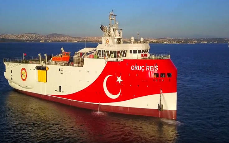Καθοδόν προς την Ανατολική Μεσόγειο το τέταρτο τουρκικό πλοίο «Ορούτς Ρέις»