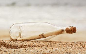 Μπουκάλι με γράμμα Ρώσου ναύτη βρέθηκε μετά από 50 χρόνια
