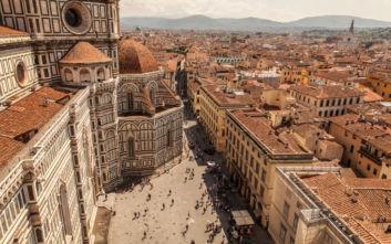 Εκπληκτική θέα στην Φλωρεντία που κόβει την ανάσα
