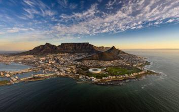 Το βουνό με την επίπεδη κορυφή στη Νότια Αφρική