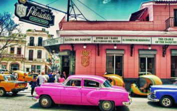 Το μπαρ στην Κούβα που σερβίρει κοκτέιλ με το όνομα του Χέμινγουεϊ