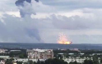 Σιβηρία: Εννέα οι τραυματίες από τις νέες εκρήξεις στις αποθήκες πυρομαχικών