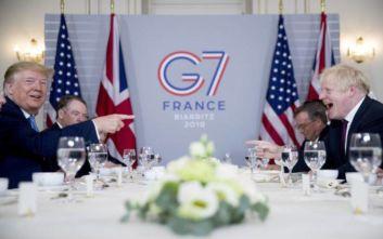 Τραμπ: Θα συνάψουμε γρήγορα εμπορική συμφωνία με τη Βρετανία μετά το Brexit