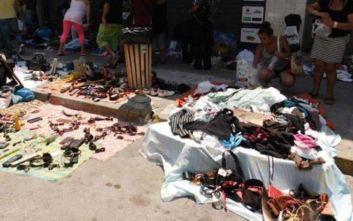 Επιχείρηση της αστυνομίας για την πάταξη του παρεμπορίου στον Πειραιά