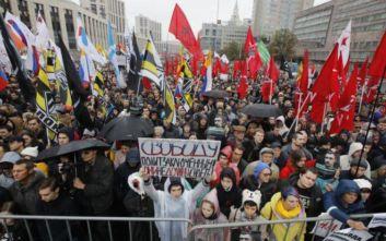 Μόσχα: Νέες διαδηλώσεις για απελευθέρωση διαδηλωτών κρατουμένων