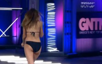 GNTM 2: Η διαγωνιζόμενη που πέρυσι είχε εμφανιστεί στο πλατό με παίκτη του Survivor