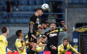 Η ΑΕΚ επικράτησε του Αστέρα Τρίπολης με 3-2