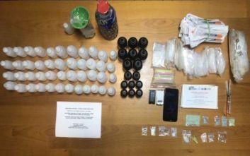 Σύλληψη 25χρονου αλλοδαπού για ναρκωτικά, πιθανότατα είχε και το «σιρόπι του βιασμού»