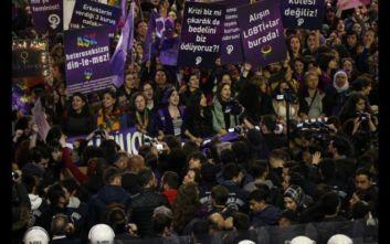 Τουρκία: Δεκάδες διαδηλωτές στους δρόμους της Κωνσταντινούπολης