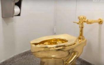 Μια τουαλέτα από χρυσό 18 καρατίων εκλάπη από το Ανάκτορο Μπλένιμ