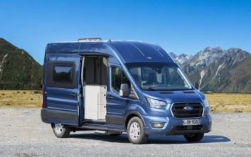 Ford Big Nugget Concept Campervan, ένα Transit με υπνοδωμάτιο, μπάνιο και κουζίνα