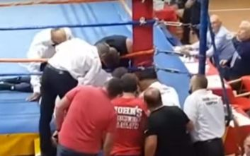 Πυγμάχος χάνει τη ζωή του σε αγώνα μποξ στην Αλβανία