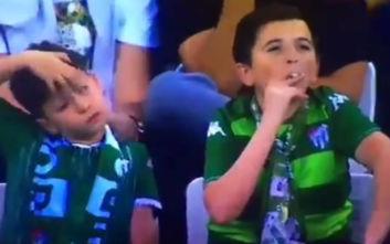 To βίντεο με τον θεριακλή «πιτσιρικά» ετών… 36 σε γήπεδο της Τουρκίας