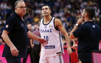 Σκουρτόπουλος: Πρέπει να προσέξουμε την υγεία του Γιάννη με το χρόνο που παίζει