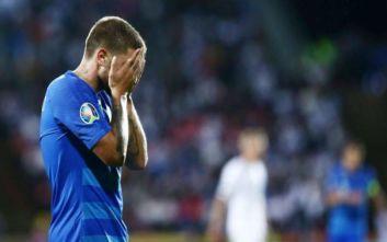 Οριστικό «αντίο» της Εθνικής στα όνειρα για συμμετοχή στο Euro 2020
