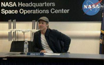 Με τον Διεθνή Διαστημικό Σταθμό επικοινώνησε ο Μπραντ Πιτ