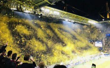 Το υπέροχο Yellow Wall με την Μπαρτσελόνα