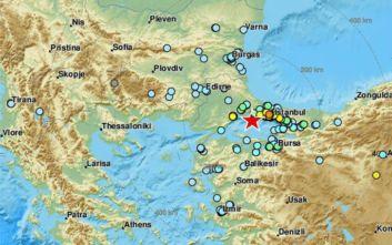 Ισχυρός σεισμός τώρα στην Τουρκία