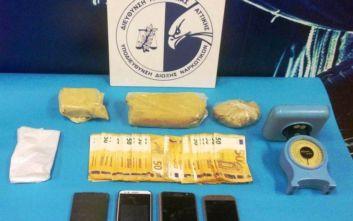 Τρία άτομα συνελήφθησαν για ναρκωτικά στην Κυψέλη