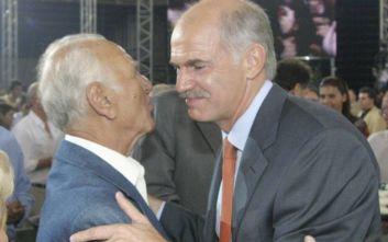 Γιώργος Παπανδρέου για Αντώνη Λιβάνη: Η θλίψη για τη φυγή σου μεγάλη