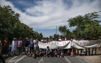 Άνοιξε ο παράδρομος της εθνικής οδού Αθηνών – Λαμίας, έληξε η συγκέντρωση