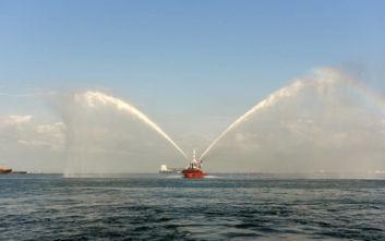 Το Βέλος έφτασε στη Θεσσαλονίκη και προκαλεί δέος