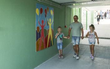 Τα σχολεία που «άνθισαν» στα καμένα: Αγιασμός με χρώματα και χαμόγελα στη Ραφήνα
