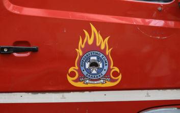 Μεγάλες ζημιές από φωτιά σε χώρο εστίασης στα Τρίκαλα