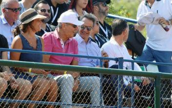 Το Davis Cup παρακολουθεί ο Κυριάκος Μητσοτάκης