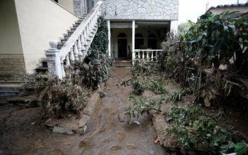 Εικόνες καταστροφής από την κακοκαιρία στη Θεσσαλονίκη