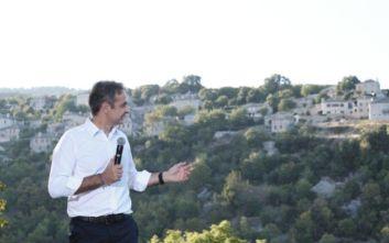 Μητσοτάκης: Κάθε μήνα θα περιοδεύω στην ελληνική Περιφέρεια