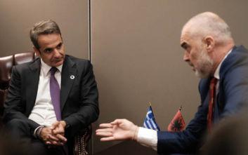 Συνάντηση Μητσοτάκη - Ράμα και το μήνυμα για την ελληνική μειονότητα