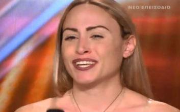 X-Factor: Tα σχόλια του Θεοφάνους έφεραν δάκρυα στα μάτια της