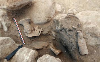 Εντυπωσιακά ευρήματα στον αρχαιολογικό χώρο της Αχλάδας Φλώρινας