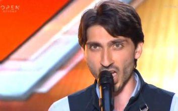 X-Factor: Ο διαγωνιζόμενος που… τρόμαξε τους κριτές