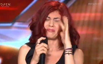 X-Factor: Ξέσπασε σε λυγμούς μόλις άκουσε την κριτική