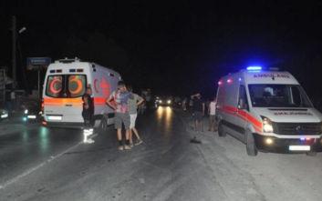 Δύο ελαφρά τραυματίες από τις εκρήξεις στα κατεχόμενα