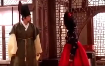 Μοναδικό απρόοπτο σε γυρίσματα ασιατικής ταινίας