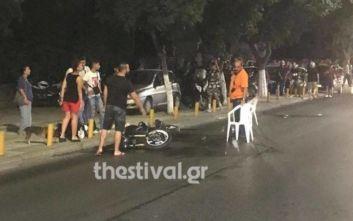 Κατέληξε η 73χρονη που παρασύρθηκε από μηχανή στη Θεσσαλονίκη