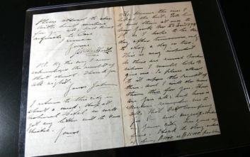 Επιστολές του Μαρσέλ Προυστ βγαίνουν σε δημοπρασία