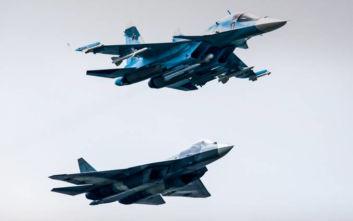 Ρωσικά μαχητικά συγκρούστηκαν στον αέρα