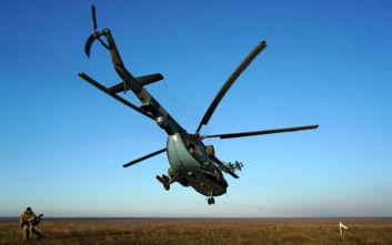 Συνετρίβη στρατιωτικό ελικόπτερο στη Ρωσία