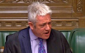 Ο πρόεδρος της βρετανικής Βουλής προανήγγειλε την παραίτησή του