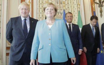 Μέρκελ και Τζονσον συμφώνησαν να εργαστούν δραστήρια για μια συμφωνία για το Brexit