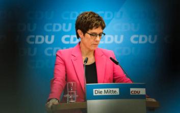 Η επικεφαλής του CDU στη Γερμανία αποκλείει συνεργασία με την ακροδεξιά