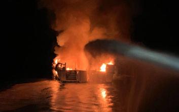 Τραγωδία στην Καλιφόρνια: Τουλάχιστον 8 νεκροί, 26 αγνοούμενοι από το φλεγόμενο σκάφος