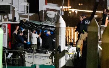 Δύτες αναζητούν και τα υπόλοιπα θύματα στο σκάφος όπου ξέσπασε φωτιά στην Καλιφόρνια