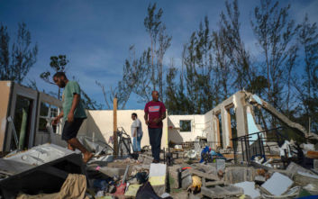 Στις Μπαχάμες ο ΓΓ του ΟΗΕ για αλληλεγγύη στα θύματα του τυφώνα Ντόριαν